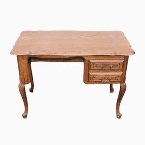 Rustic Oak Dressing Table, 1920s