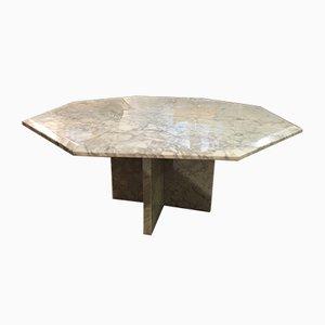 Tavolino da caffè vintage in marmo