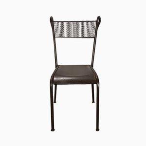 Vintage Czech Iron Chair, 1930s