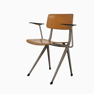 Dutch School Chair with Armrests from Marko, 1960s