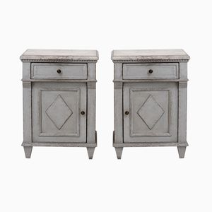 Antique Gustavian Cabinets, Set of 2