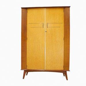 Kleiderschrank aus Teak & Nussholz, 1950er