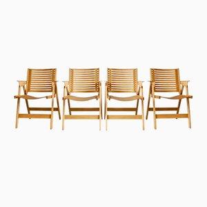 Rex Stühle von Niko Kralj, 1950er, 4er Set