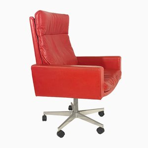 Vintage RH 201 Highback Armchair by Robert Haussmann for de Sede, 1957