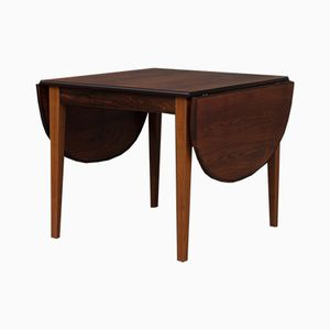 Vintage Danish Rosewood Drop Leaf Table