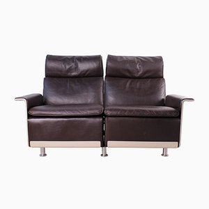 Vintage Model 620 Leather Sofa by Dieter Rams for Vitsœ