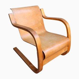Butaca modelo 31 vintage de Alvar Aalto para Finmar, años 30