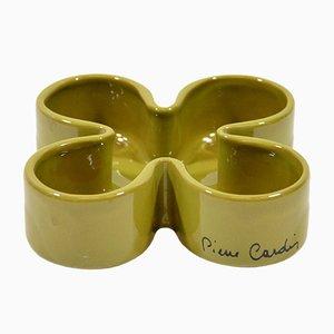 Bandeja de cerámica de Pierre Cardin, años 70