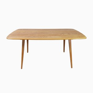 Mid-Century Plank Dining Table by Lucain Ercolani for Ercol