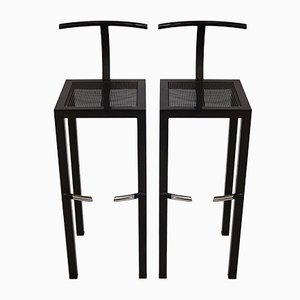 Sarapis Bar Stools by Philippe Starck for Aleph Ubik, 1986, Set of 2