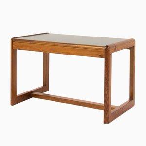 Tavolino da caffè in pino e laminato nero di Andre Sornay, anni '60