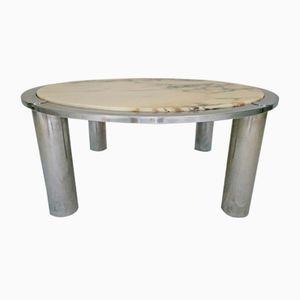 Tavolino da caffè in marmo, anni '70