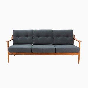 Sofa aus Kirschholz von Wilhelm Knoll, 1960er