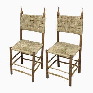 Italian chairs, 1960s, Set of 2