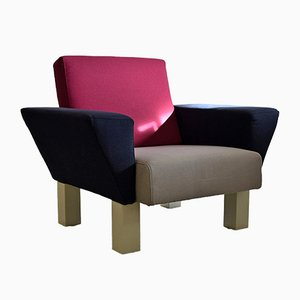 Poltrona West Side di Ettore Sottsass per Knoll, 1983