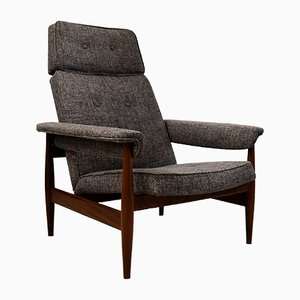 Mid-Century Modern Teak Lounge Chair, 1960s