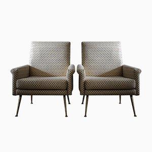 Paar moderne italienische Mid-Century Sessel