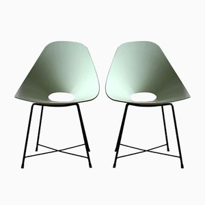 Vintage Side Chairs by Augusto Bozzi, Set of 2