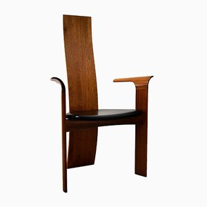 Mid-Century Sculptural Armchair by Bob & Dries van den Bergh for Tranekær Mobler