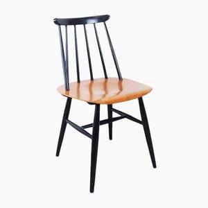 Chaise Vintage avec Dossier à Barreaux par Ilmari Tapiovaara