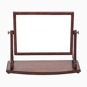 Antique Mahogany Swing Mirror