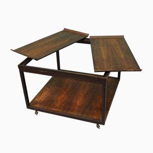 Danish Rosewood Low Table, 1960s
