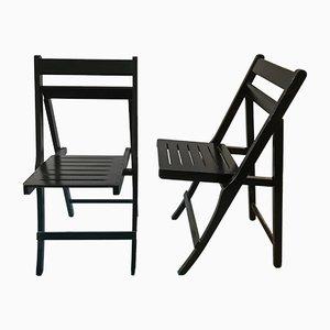 Morettina Folding Chairs by Ettore Moretti for Zanotta, Set of 2