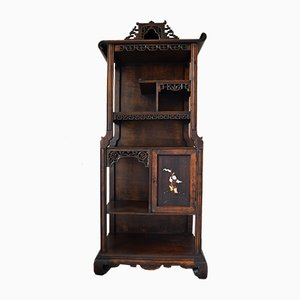 French Inlaid Cabinet, 1890s