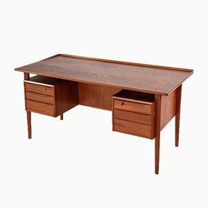 Teak Desk by Peter Løvig Nielsen for Løvig, 1960s