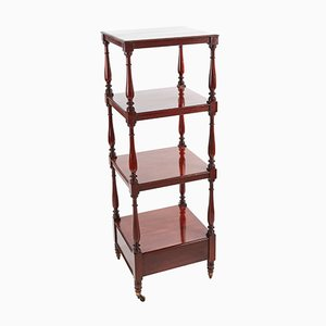 William IV Mahogany Freestanding Four-Tier Etagere