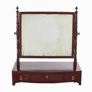 Coiffeuse avec Miroir en Acajou, Géorgie, 1800s