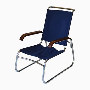 Bauhaus B35 Easy Chair by Marcel Breuer for J.B. van Heijst, 1930s