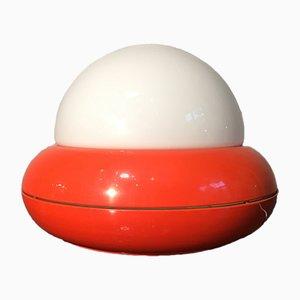 Lampe de Bureau Space Age UFO par Luci Milano, 1970s