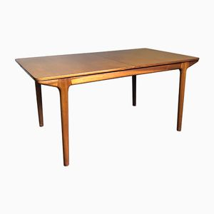 Large Mid-Century Teak Extendable Dining Table from McIntosh, 1970s
