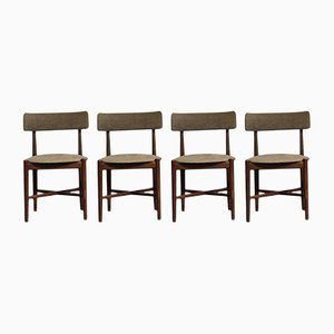 Mid-Century Danish Teak Dining Chairs from G-Plan, Set of 4