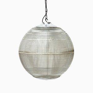 Kugelförmige Vintage Deckenlampe von Holophane