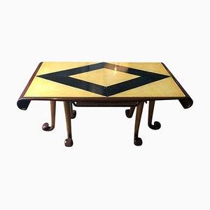 Tavolo in pergamena di Osvaldo Borsani, anni '30