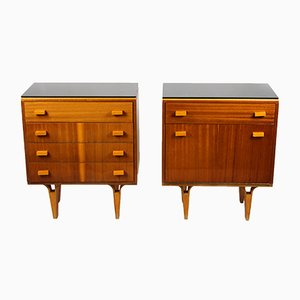 Mid-Century Nightstands from Novy Domov NP, 1970s, Set of 2