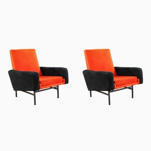642 Armchairs by ARP for Steiner, 1950s, Set of 2