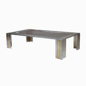Metal Coffee Table by Romeo Rega, 1970s