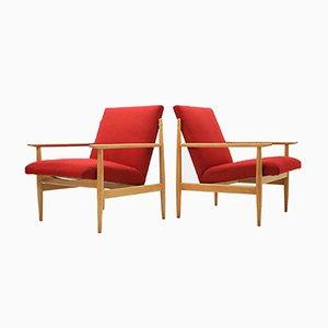 Vintage Armlehnstühle, 1960er, 2er Set