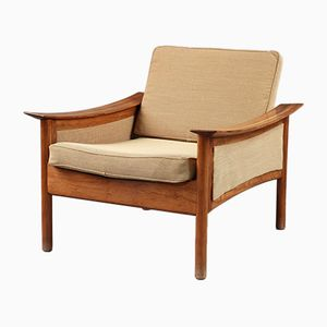 Scandinavian Teak Armchairs by Oskar Langlo for P. I. Langlos Fabrikker A/S, 1950s, Set of 2