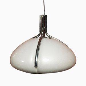 Lampe à Suspension Quadrifoglio Vintage par Gae Aulenti pour Guzzini