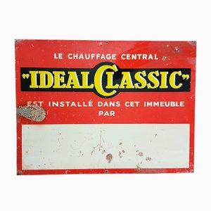 Französisches Werbeschild, 1950er