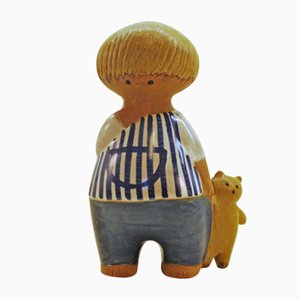 Vintage Malin Keramikfigur von Lisa Larson für Gustavsberg