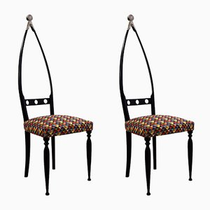 Skulpturaler Stuhl von Pozzi & Verga 1950