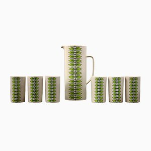 Mid-Century Modern Pitcher and cups by Villeroy & Boch