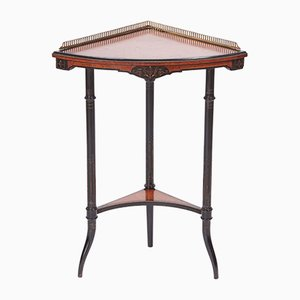 Antique Corner Table, 1880s