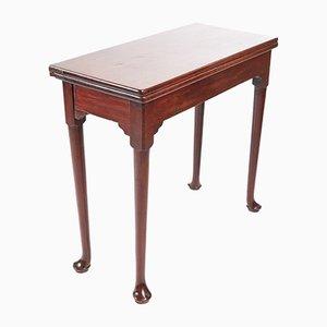 18th Century Mahogany Tea or Side Table, 1740s