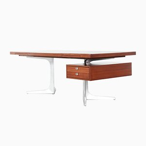 Top Series Executive Writing Desk by Herbert Hirche for Christian Holzäpfel, 1967